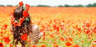primavera, altera, flores, sexo, erotismo