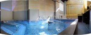 Instalaciones de agua en balneario nudista