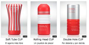 Alguno de los modelos de Soft Tube Cup