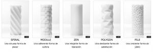 Los diseños en 3d de Tenga
