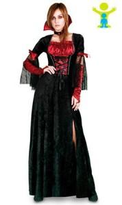 vampiresa sexy, disfraz, mujer, halloween