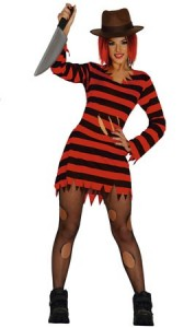 disfraz, sexy, halloween, miss scissors, puñal