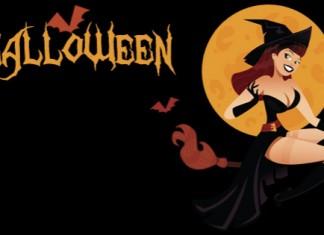 disfraces, halloween, bruja, calabaza, murcielago