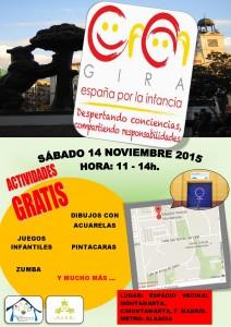 gira, infancia, España, pobreza infantil