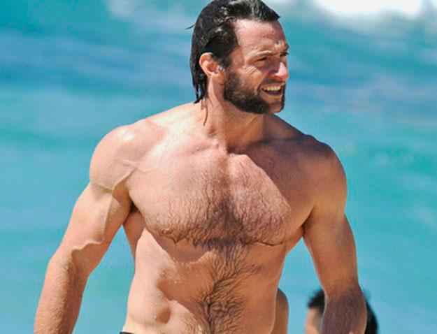 Hugh Jackman, de pelo en pecho