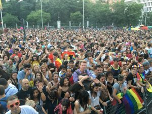 orgullo 2018 en Madrid